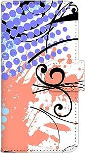 智能手机壳 手册式 对应全部机型 印刷手册 wn-449top 套 手册 图形艺术 UV印刷 壳WN-PR061425-MX AQUOS Xx2 502SH B款