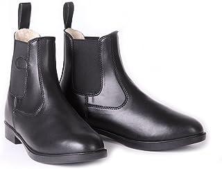 带内衬 合成皮革 短靴
