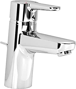 Ideal Standard Connect 蓝色水洗盆水龙头,镀铬,带高喷嘴,B9936AA