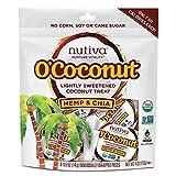 Nutiva OCoconut Snack - Organic - Hemp and Chia - 4 oz - Case of 8