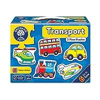 Orchard Toys 积木拼图 运输(亚马逊进口直采,英国品牌)(新老包装 随机发货)