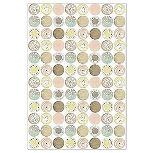 无树问候语 12 个空白记事卡,悬挂 (FS56230) 珊瑚色