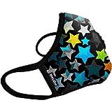 Vogmask N99CV时尚成人/青少年防雾霾 pm2.5 防尘 防过敏源 户外运动旅行口罩 Grunge(垃圾摇滚)1只 M号 (参考体重:51-130磅/23-58公斤)(进口)