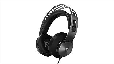 Lenovo 聯想 Legion H500 Pro 7.1 環繞立體聲游戲耳機,降噪麥克風,*泡沫和 PU 皮革耳罩,不銹鋼頭帶,電腦,PS4,Xbox One,任天堂開關,GXD0T69864,黑色
