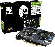 玄人志向 NVIDIA GeForce GTX 1050Ti 搭载显卡 4GB 双风扇 GF-GTX1050Ti-E4GB/DF3