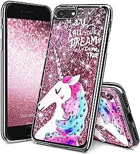 可爱闪亮飘逸保护套 iPhone 6 Unicorn