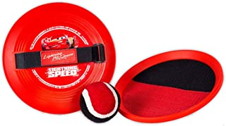 Disney 迪士尼 9808 Catch - 汽车球,红色,200克