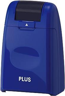 PLUS 普乐士 IS-500滚轮式盖字棒/乱码保密印章/隐私创意保护印章 大号 蓝色