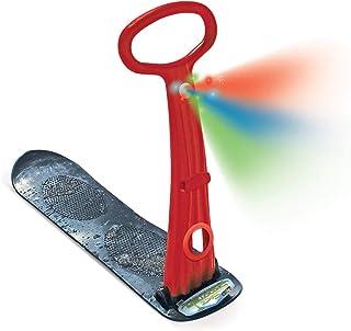 原创 LED 滑雪滑板车,折叠式滑雪板踢水器,适用于雪和草坪、雪雪橇、冬季玩具