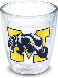Tervis 独立玻璃杯 透明 12oz UNIV-MICHIGAN-VAULT