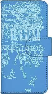 智能手机壳 手册式 对应全部机型 印刷手册 wn-232top 套 手册 幻想 UV印刷 壳WN-PR061530-MX AQUOS Xx2 502SH 图案C