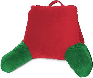 Clara Clark 高级粉碎*泡沫电视枕头。 Holiday Color 中 VC_CC-redingplw-m-holiday