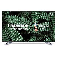 hisense 海信 LED55EC500U 55英寸 4K超高清平板电视 VIDAA4智能系统 黑色