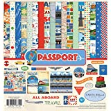 "Carta Bella Collection Kit 12""X12""-Passport"