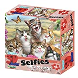 Howard Robinson HR10855 48 块超 3D 儿童拼图 - 猫自拍