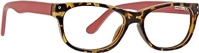 Life is Good 男女通用成人影院 LGCINEMA0TORT0150 椭圆阅读眼镜,玳瑁色,1.5
