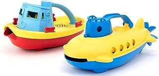 Green Toys 拖船和潜水艇组合套装