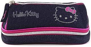 Target Hello Kitty 铅笔盒,22 厘米 Blue (Dunkel Blau/Rosa/Weiß) Blue (Dunkel Blau/Rosa/Weiß)