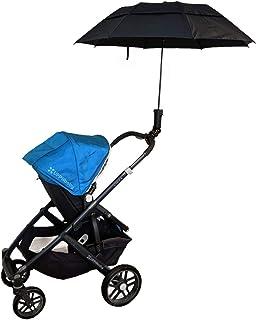 可拆卸的雨伞架和雨伞由 Bananaleaf Designs 设计 黑色 Universal Mount + Umbrella