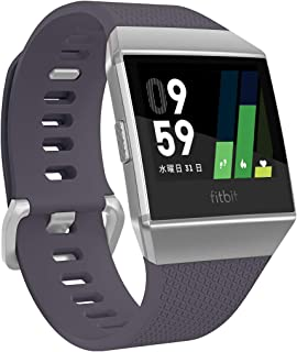 Fitbit 健身 智能手表 iONIC 心率 * 個人角落 配備GPS 耐水性能FB503WTGY-CJK 藍灰/白色