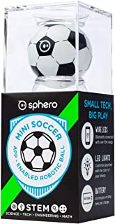 Sphero Mini:App 控制機器人球,STEM 學習和編碼玩具,適合 5 歲及以上兒童 足球