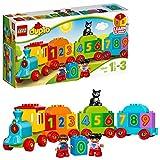 LEGO 乐高  拼插类 玩具  DUPLO 得宝系列 数字火车 10847 1½-3岁 婴幼(23片)