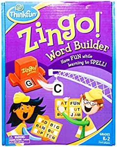 Thinkfun 新想法 益智玩具 眼明手快 串字乐 Zingo Word Builder
