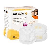 Medela 美德乐 一次性舒适干爽透气防溢乳垫30片装