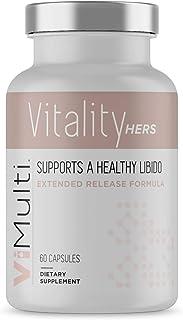 ViMulti Vitality Hers - 女性*性欲补充剂,天然性欲增强剂 - 提升性*,增加动力和整体女性*