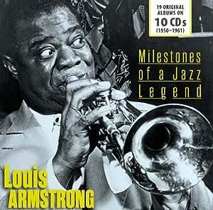 进口CD:刘易斯.阿姆斯特朗:爵士传奇里程碑:19张原版专辑 Louis Armstrong:Milestone of a Jazz Legend:19 Original Albums(10CD)600268