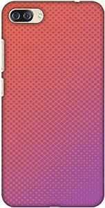 AMZER 修身款手工制作设计师印花硬壳后盖适用于华硕 Zenfone 4 Max、Pro、Plus ZC554KLAMZ601040202211 Vintage Dot Pop 1