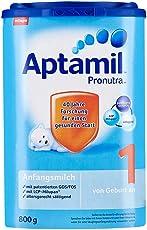Aptamil 爱他美 婴儿配方奶粉1段(0-6个月) 易乐罐 800g 包邮包税【跨境自营】