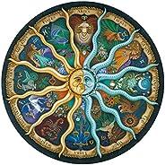 Ingooood Rainy Night Walk 木制拼图 1000 块 Zodiac Horoscope