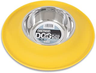 Wetnoz 23905 Flexi Bowl for Pets, 14.5-Ounce, Sun