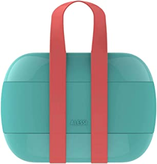 Alessi 便携式饭盒 浅蓝色 均码 SA02 LAZ