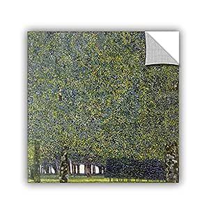 "ArtWall Gustav Klimt's The Park Appeelz Removable Graphic Wall Art, 24 by 24"""