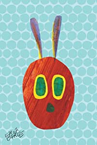 """Eric Carle 'Caterpillar Character' Painting Print on Wrapped Canvas, 24"""" X 36"""""""