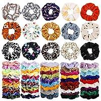 68 件發束,天鵝絨發彈力發帶,發繩,女士或女孩發飾
