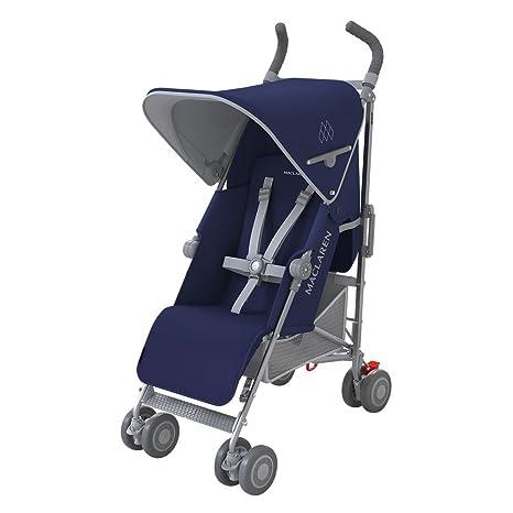 10042d2c69bf Maclaren WM1Y040041  Maclaren Quest系列婴儿推车中世纪蓝 银色– 2016 ...