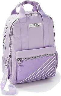 Justice 女孩返校背包丁香紫条纹