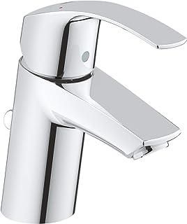 GROHE 高仪 Eurosmart 单把面盆龙头 单孔安装/陶瓷阀芯 33265002,S号,镀铬