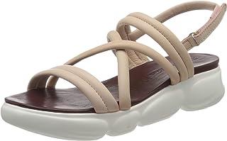 Tamaris 女士 1-1-28247-24 皮质皮带凉鞋