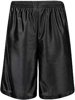 HQUEC 男士酷炫篮球短裤速干健身跑步短裤带侧口袋