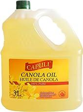 CAPULI 卡普莉 芥花籽油3L(加拿大进口)