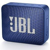 JBL GO2 蓝牙音箱 IPX7 级防水 便携 无源*器 黑色 JBLGO2BLKJBLGO2BLU
