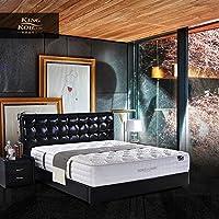 美国金可儿(Kingkoil) 现代简约欧式真皮床双人皮艺软床主卧床1.8M 慕尼黑 (1500*2000)