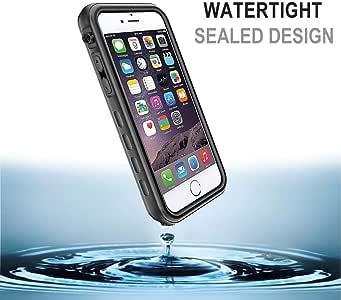 iPhone 防水手机壳iPhone 7/8 Plus 5.5 inch T - Black for iPhone 7/8 Plus