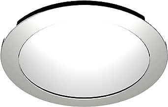 Ledtek LDUFO24BC 表圈配件适用于 LdUFO24 UFO 筒灯,塑料,镀铬,24 W