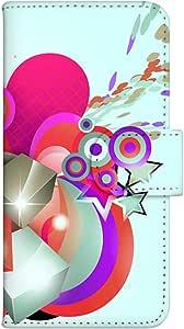 智能手机壳 手册式 对应全部机型 印刷手册 wn-694top 套 手册 图形艺术 UV印刷 壳WN-PR352381-S AQUOS PHONE ef WX05SH B款