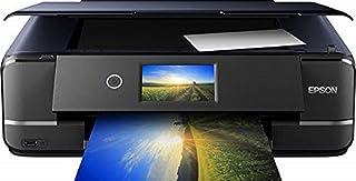 Epson 爱普生 Expression Photo XP-970 3 合 1 喷墨多功能打印机(扫描仪,复印机,WiFi,以太网,双工,10.9 厘米触摸屏,单墨盒,6 种颜色,DIN A3)黑色